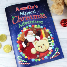 Personalised Magical Christmas Adventure Story Book P0512Z41